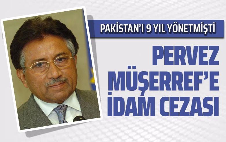 Pervez Müşerref'e İdam Cezası Verildi